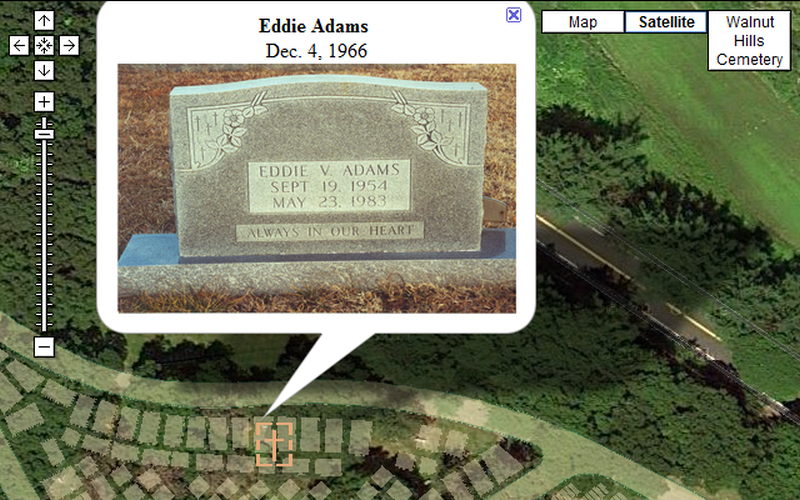 Cemetery Mapping via Google Maps on military mapping, forest mapping, tree mapping, community development mapping,